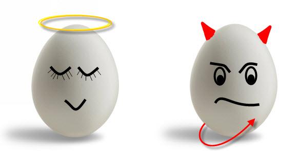 halo-angel-devil-horns-egg